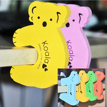 10pcs Protection of Baby Safety EVA Door Stopper Security Supplies Prevent Children From Being Damaged Cute Koala Dog Animals