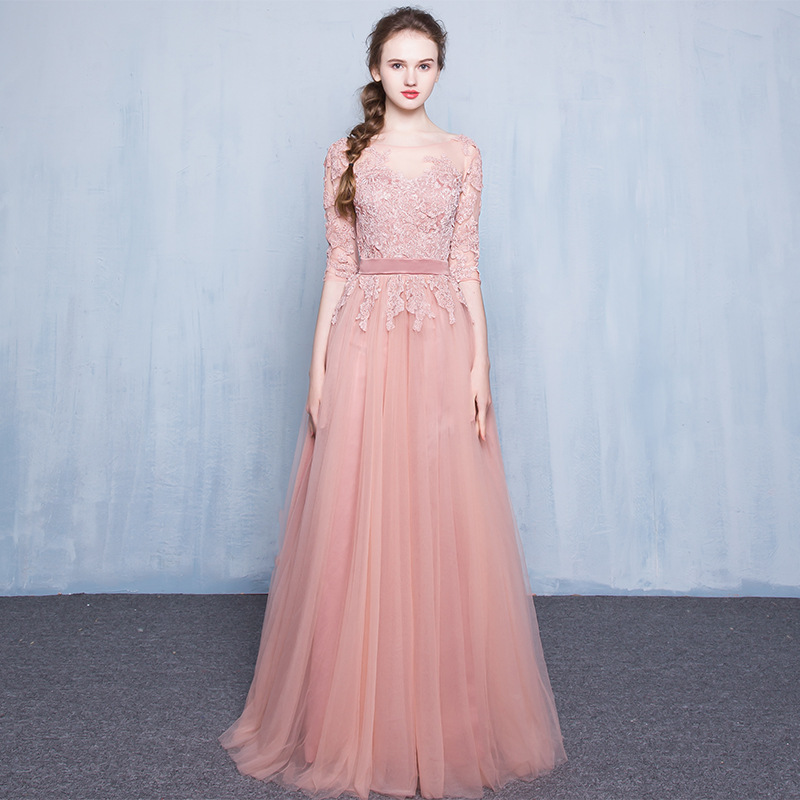 2017 Summer Dress Princess Sweet Runway Lace Ukraine Women Clothing Womens Pink Embroidered Sexy Party Night Club Lolita Dresses