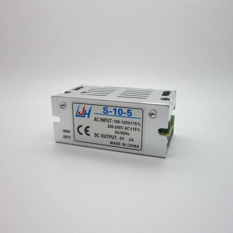 1PC Best quality 5V 2A 10W AC/DC Universal Regulated Switching Power Supply AC 100V-240V 5V2A,free shipping free shipping 20pcs lot w25q16bvssig w25q16bvsig 25q16 flash 16mbit 104mhz sop8 best quality diy kit nmd dc dc bag logic ics