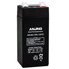 4V 4AH герметичный аккумулятор для хранения свинцово-кислотный перезаряжаемый аккумулятор запасной детский игрушечный автомобиль переноска для ребенка 4V4AH