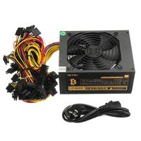 170 240V Mining Case Power Supply 1800W With Low Noise Cooling Fan