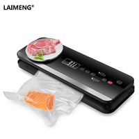LAIMENG Automatic Vacuum Sealer Machine With Food Grade Vacuum Bags Packaging Packs For Vacuum Packer Package For Kitchen S197