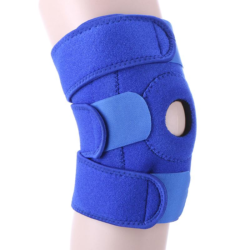 Adjustable Sports Knee Pad Elastic Knee Support Brace Kneepad Patella Knee Pads Safety Guard Strap Kneepad for Cycling Running