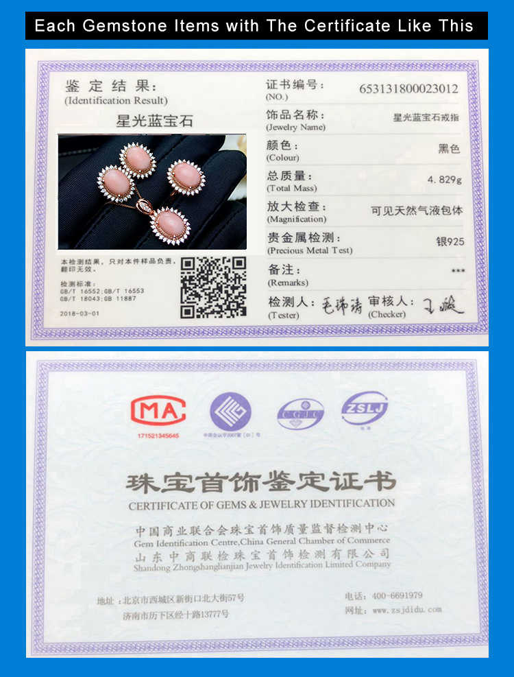 MeiBaPJ ธรรมชาติวุ้นสีชมพู Coral อัญมณี 925 แหวนเงินจี้สร้อยคอ 3 ชุด Fine งานแต่งงานชุดเครื่องประดับสำหรับผู้หญิง