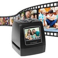Film Scanner 135mm/ 126mm/ 110mm/ 8mm 14MP/22MP High resolution Negative Film Slide Scanner USB MSDC EU/US plug