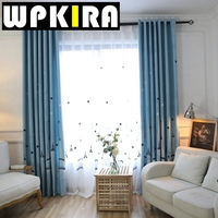 Tiyana Fashion Fresh Child Cartoon Curtain High Quality Window Screening Castle Curtain Cotton Linen Curtain Kids