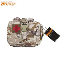 EXCELLENT ELITE SPANKER Outdoor Tactical Molle Camo Pouch EDC Military Waist Pack Hunting Waterproof Nylon Accessories