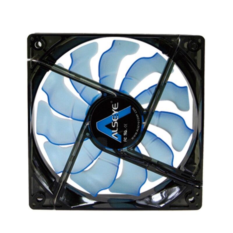 ALSEYE Cooler PC Fan 120mm 12v 3pin 1800RPM 96CFM Kompüter üçün - Kompüter hissələri - Fotoqrafiya 5