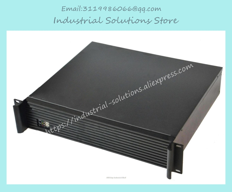 Здесь можно купить   NEW Quality aluminum panel 2u computer case ultra-short 2u server industrial computer case firewall industrial computer case Инструменты