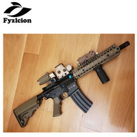 Hunting 558 Holographic Red Green Dot Sight +3X Magnifier with Switch to Side Quick Detachable QD Mount For 20mm Rail Mounts