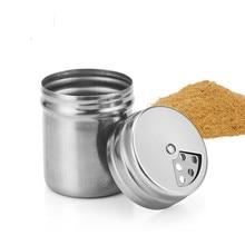 Открытый Пикник из нержавеющей стали сезон бутылка гриль горшок соль и перец шейкеры баночка для специй контейнер для приправы органайзер для хранения