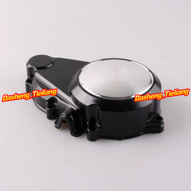 Stator Engine Crank Case Generator Cover Crankcase For Honda CB400 1993 1994 1995 1996 1997 1998 Silver+Black engine stator crankcase cover crank case for honda gl1800 goldwing 2001 2013 01 02 03 04 05 06 07 08 09 10 11 12 13