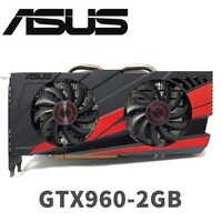 Asus GTX-960-OC-2GB GT960 GTX960 2G D5 DDR5 128 Bit nVIDIA PC Desktop di Schede Grafiche PCI Express 3.0 Scheda Grafica del computer carte