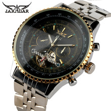JARAGAR Mens Watches Top Brand Luxury Automatic Mechanical Watch Men Full Steel Business Sport Clock Man Hours Relogio Masculino