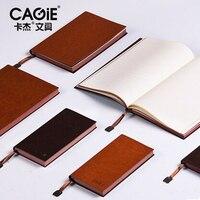 Bolso Mini Notebook Cagie A5 Filofax A6 Forrado/Pontilhada Cadernos De Papel Do Vintage De Couro Do Escritório/Escola Planejador Agenda Diária