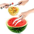 2016 Hot Ferramentas Criativas de Cozinha Prático Melancia Cantaloupe Fatiador de Frutas Fatiador de Frutas Faca De Corte Cortador de Venda Barato