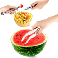 2016 Hot Kitchen Pratical Tools Creative Watermelon Slicer Fruit Cutter Knife Cantaloupe Fruit Slicer Cutter Cheap Sale