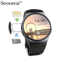 Bluetooth smart watch telefon kw18 sim-tf-karte herzfrequenz reloj smartwatch tragbare armbanduhr für apple getriebe s2 huawei