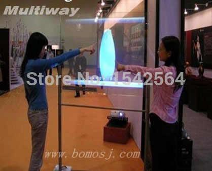 65 Inch dural cảm ứng foil phim, Điện Dung Đa Chạm Vào Phim Cho Windows7, Windows8, Android