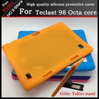 Soft Silicone Case For Teclast 98 Octa Core Tablet Pc Kids Safe Shockproof Silicone Cover For