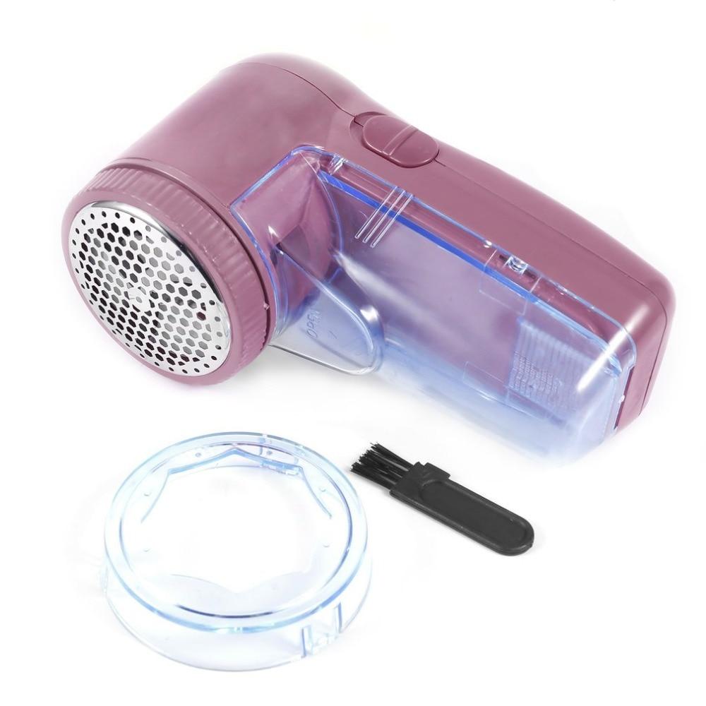 Tragbare zwei batterien kleidung pille-fussel-remover pullover substanzen rasierer maschine zu entfernen die pellets kompakt