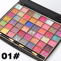 1 Eyeshadow Palette 48 Màu Quá Trình Màu (Màu duy nhất Trộn) lồi Bột Ướt Mắt Tạo Nên Eye Mắt Bóng Đĩa