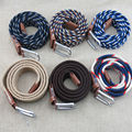 (1 pcs/lot) Ms male elastic woven belts High quality knitting fashion belt many styles to choose from gift