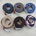 (1 unids/lote) MS masculino elástica cinturón de moda cinturones tejidos de punto de Alta calidad muchos estilos para elegir regalo