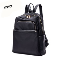 Kvky Новинка 2017 года; стильное платье женщины рюкзак модные рюкзаки для девочек-подростков нейлон школьные сумки Mochila высокое качество дорожные сумки CH097