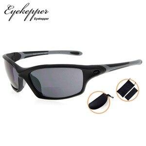 Image 4 - SG903 Eyekepper TR90 Frame Bifocal Sports Sunglasses Baseball Running Fishing Driving Golf Softball Hiking Readers