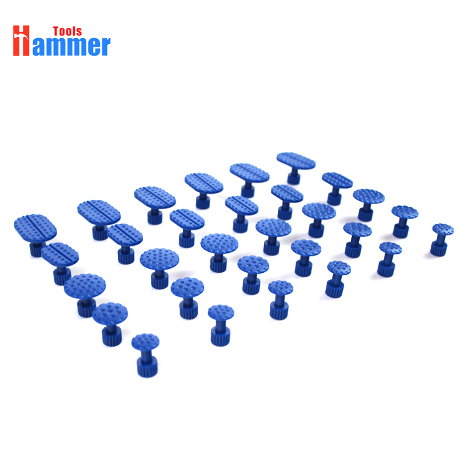 PDR Puller Tabs 30pcs//Pack Automotive Paintless Dent Repair Tools Glue Pulling Tabs Car Body Dent Remover Tool Glue Puller Sets Tabs