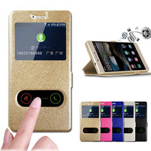 For Huawei Y6 Prime 2018 Case Flip PU Leather Cover Quick View Window Stand Book Case For Huawei Y6 Prime 2018 ATU-L42 ATU-L31