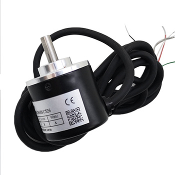 Free shipping 5V TTL Voltage AB 2 Phase Output Incremental Optic Rotary Encoder 100 200 360 400 500 600 1000 ppr microcomputer free shipping 0 4 2v voltage wind speed sensor voltage output anemometer 360 degree