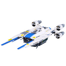 In stock 05054 Star Toys Wars Compatible with 75155 The Rebel U-Wing Fighter Building Blocks Educational For Children Gifts