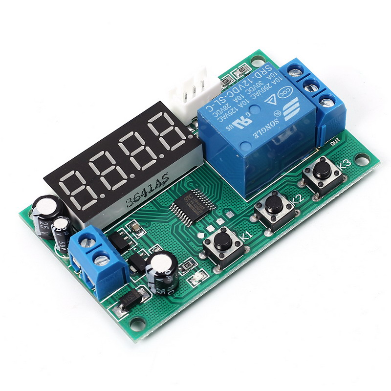 YYW-1 Digital Display DS18B20 Temperature Controller Switch Thermostat Temperature Control Switch Template 20V-27V or DC 12V