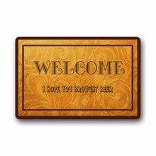 WELCOME I Hope You Brought Beer Custom Indoor/Outdoor Door mats Doormat 30(L) x 18(W) Inch