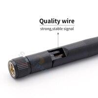 band dual יוניברסל Band Dual 8dBi 4G 5G 5.8G WIFI אנטנה יוניברסל 2.4GHz Bluetooth AP נתב אלחוטי אנטנות חיצוניות Booster SMA אנטנה (3)