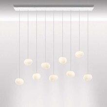 Италия Foscarini Грегг Подвесная лампа стекло подвесные светильники светодио дный современный светодиодный нерегулярный подвесной светильник столовая кухня светильники