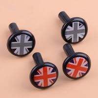 Dwcx 1 Paar Auto Union Jack Britse Vlag Stijl Aangepast Deurslot Pin Fit Voor Mini Cooper