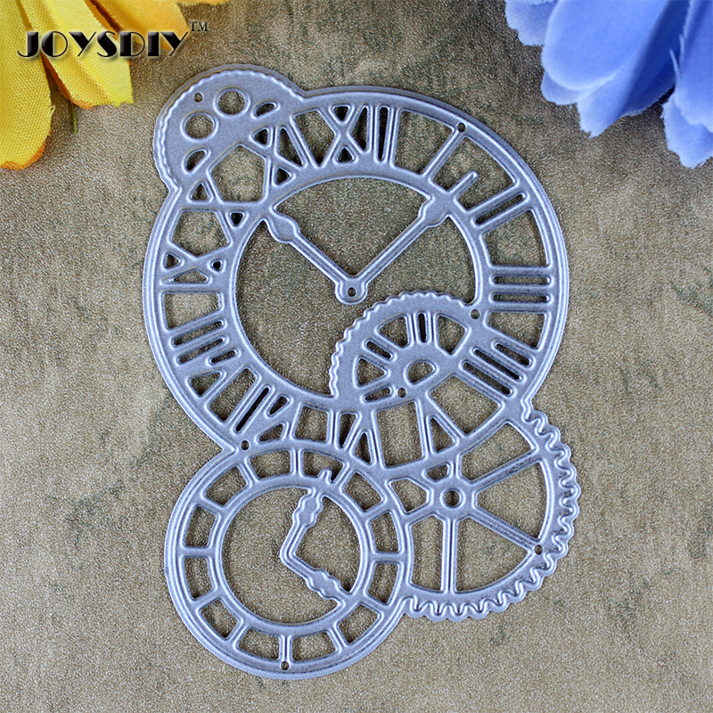 Clocks Time Axis DIY Scrapbook cutting dies Metal Die cutting Die For DIY Scrapbooking Photo Album Embossing Folder Stencil
