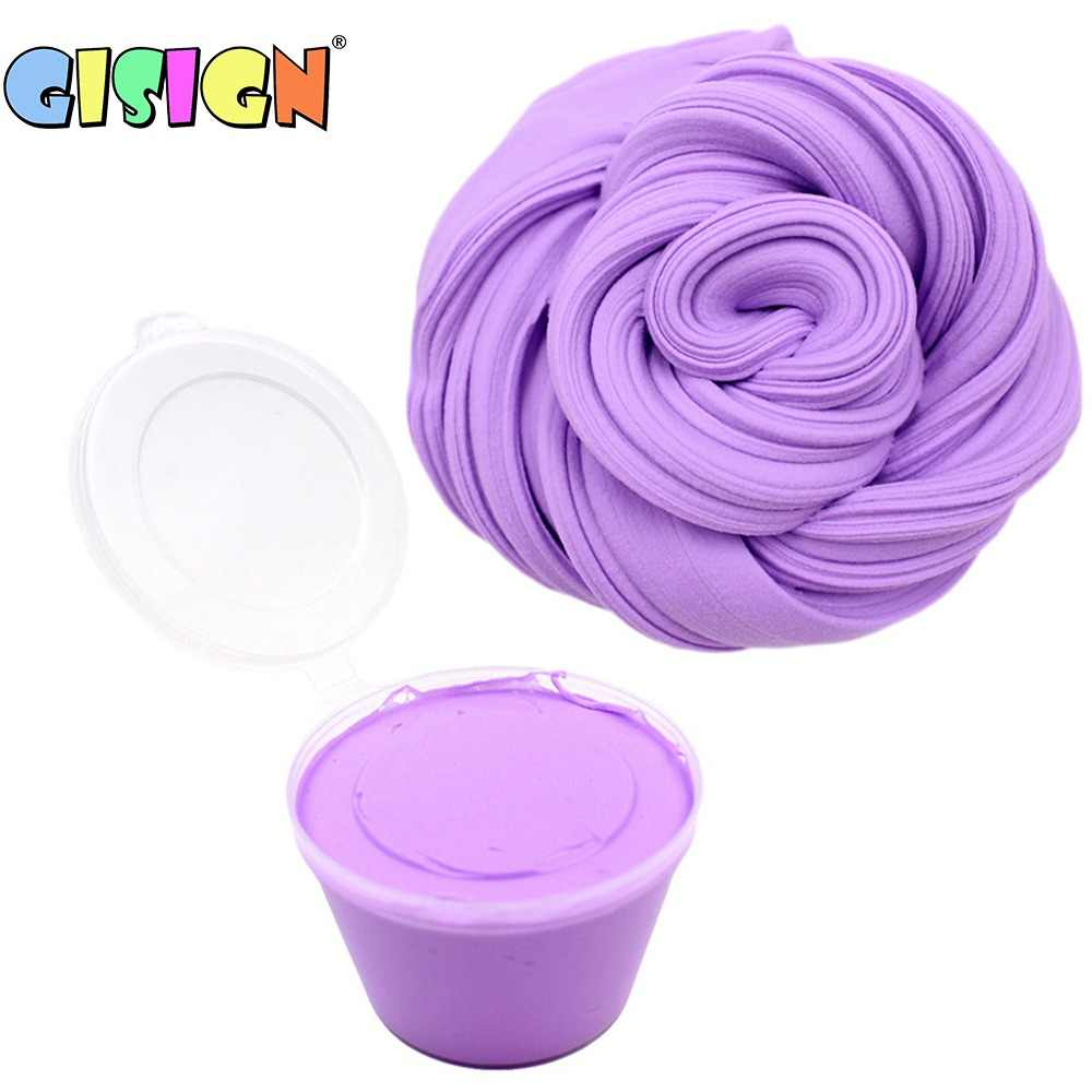 80ml Plasticine Slime Toys Air Dry Fluffy Polymer Clay Supplies Light Soft Cotton Charms for Slime Kit Lizun Antistress Toys