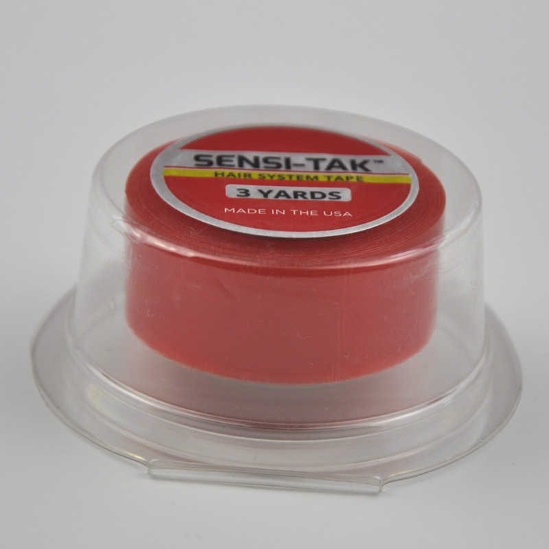 Adhesives Responsible 3/4inch*3yards Red Wig Lace Front Support Double-sided Adhesives Tape For Lace Wig/hair Tape Extension/toupee Choice Materials