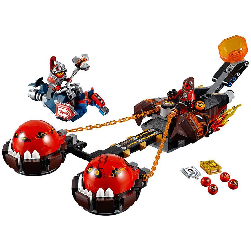 2018 New 14004 Lepin Building Blocks 334pcs Beast Master Chaos Chariot Set Jestro Macy Kids Toys Compatible Nexus Knights 70314 lepin 14004 knights beast master chaos chariot building bricks blocks set kids toys compatible 70314 nexus knights 334pcs set