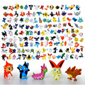 Free Shippinng 24pcs Pikachu Pokeball   2-3cm Different Style Mini  Cartoon Figure Pocket Monster Toys  Mixed Orders