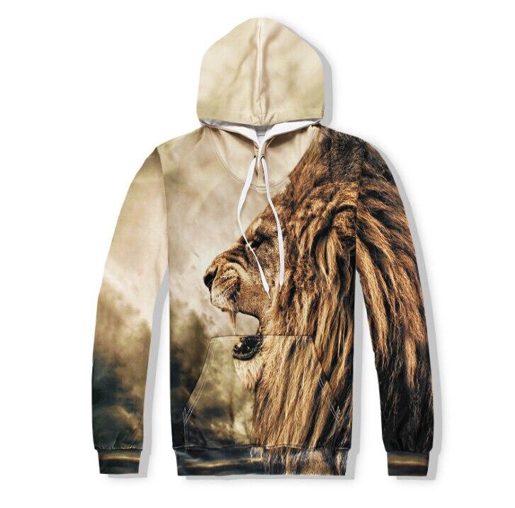 Лидер продаж 3D с изображением тигра Для мужчин Толстовки модные стили мужчины оптовая продажа