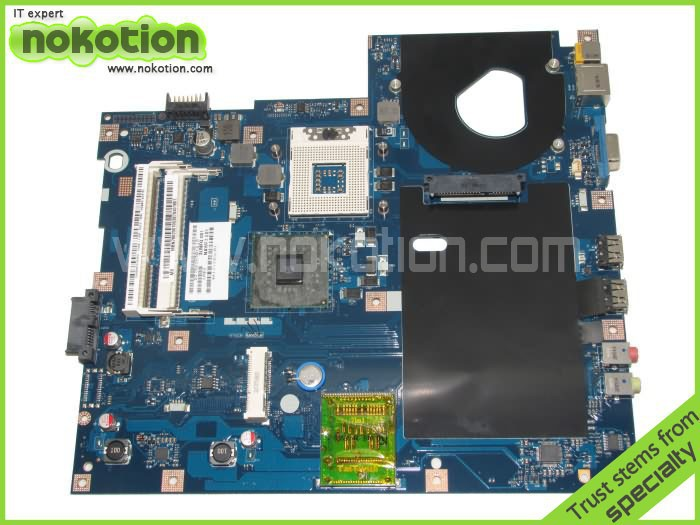 MBN7602001 LA-4854P Laptop Motherboard For Acer Emachines 5732 E525 INTEL GL40 DDR3 MB.N7602.001