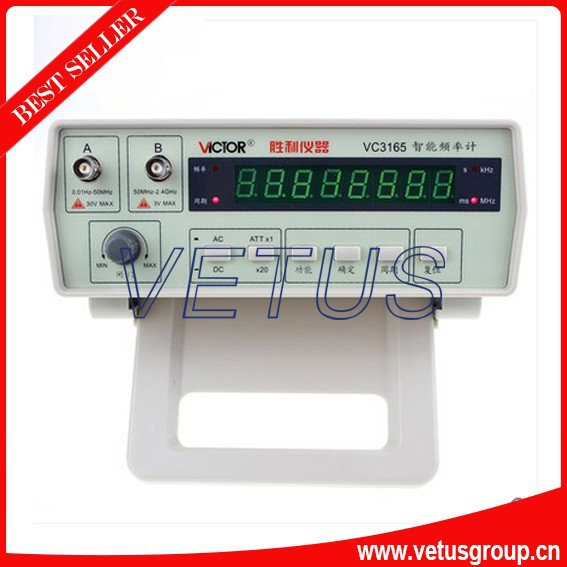 VC3165 Portable frequency counter with Top Quality 0.01Hz - 2.4GHz Precision Frequency Meter Frequency Counter lacywear s27216 3165