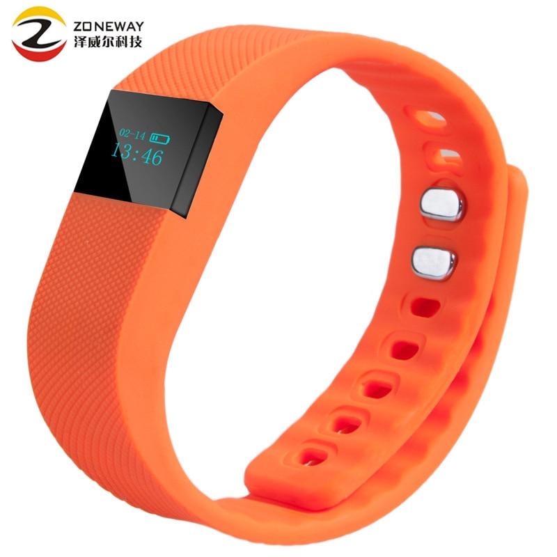 Fitness Tracker Smart band Bluetooth 4 0 Wristband Smart Pedometer Bracelet For iPhone Samsung Smartband TW64
