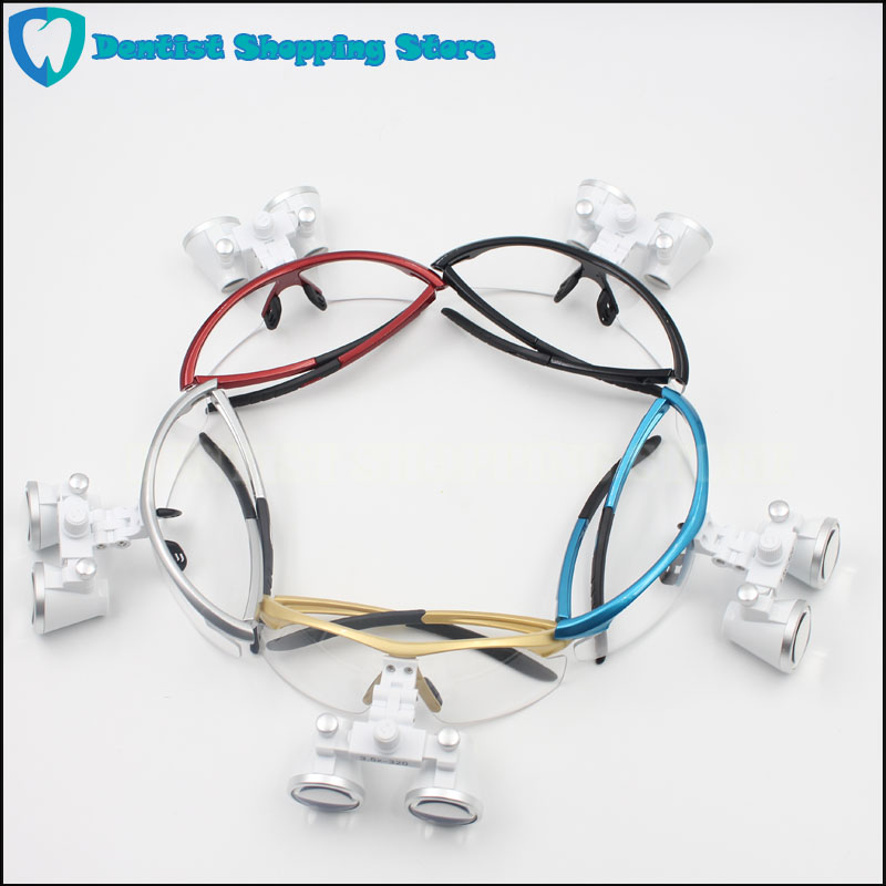 Équipement dentaire dentistes chirurgicaux loupe Loupes dentaires 3.5X420mm lunettes chirurgicales