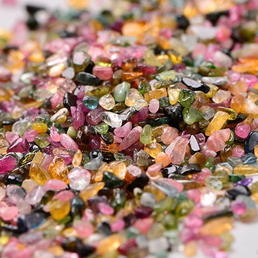 1000 g/sac naturel mélangé Quartz cristal pierre roche gravier naturel dégringolade pierres minéraux pour Aquarium jardin décoration - 3